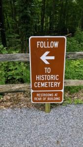 Deserted Village Cemetery