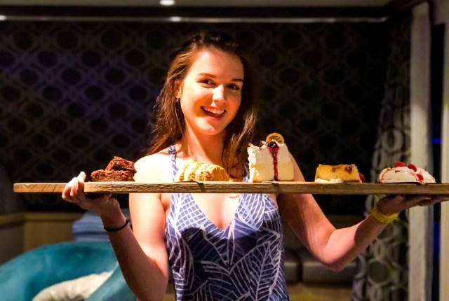 Jaimes Dessert tray