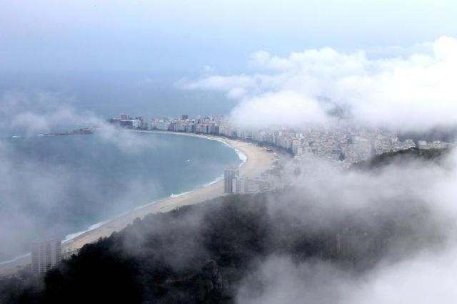 Copacabana beach from Morro da Urca