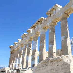 Parthenon at Acropolis Greece