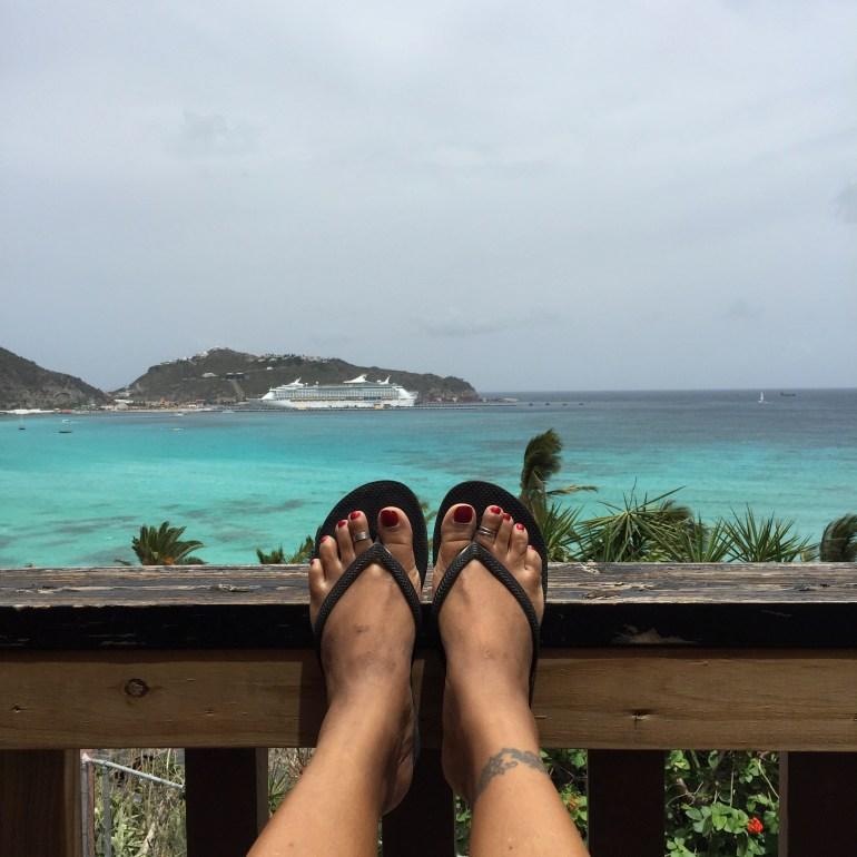 flip flops in great bay