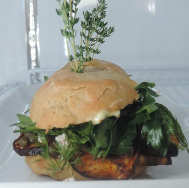 Portabello Mushroom Sandwich