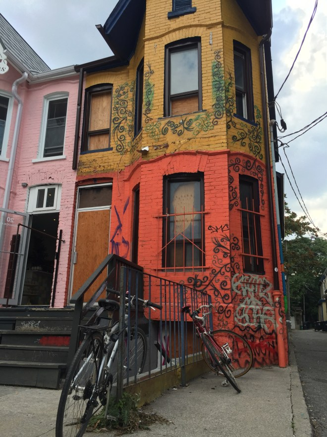 Another gorgeous building in Kensington Market