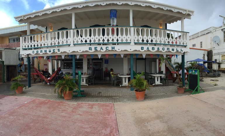 Connie's bar and grill on the boardwalk