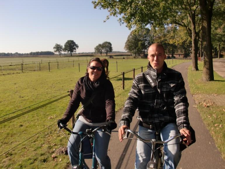 Biking around in Drenthe