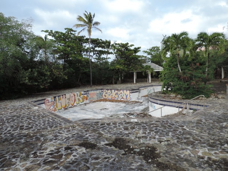 Abandoned Belle Creole Pool