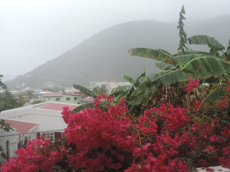Rainy St. Maarten day