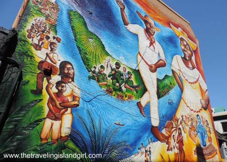 Afro Colombian Mural