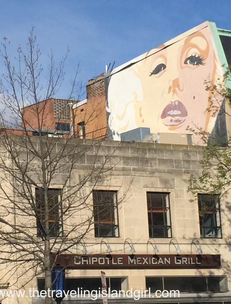 DC - Marilyn Mural -
