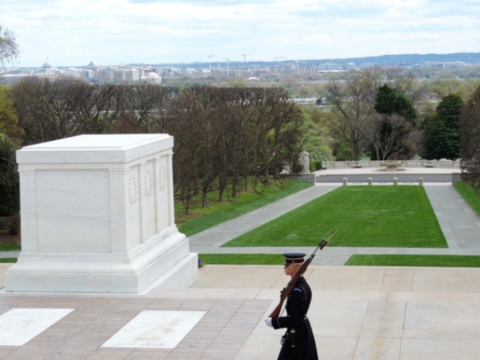 The grave of Unknown Soldier