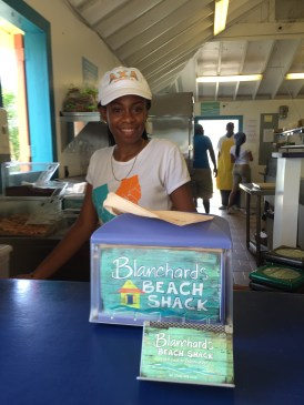 Friendly service at Blanchard's