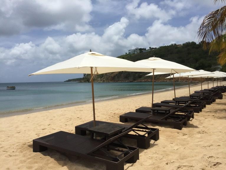 Perfect Caribbean setting