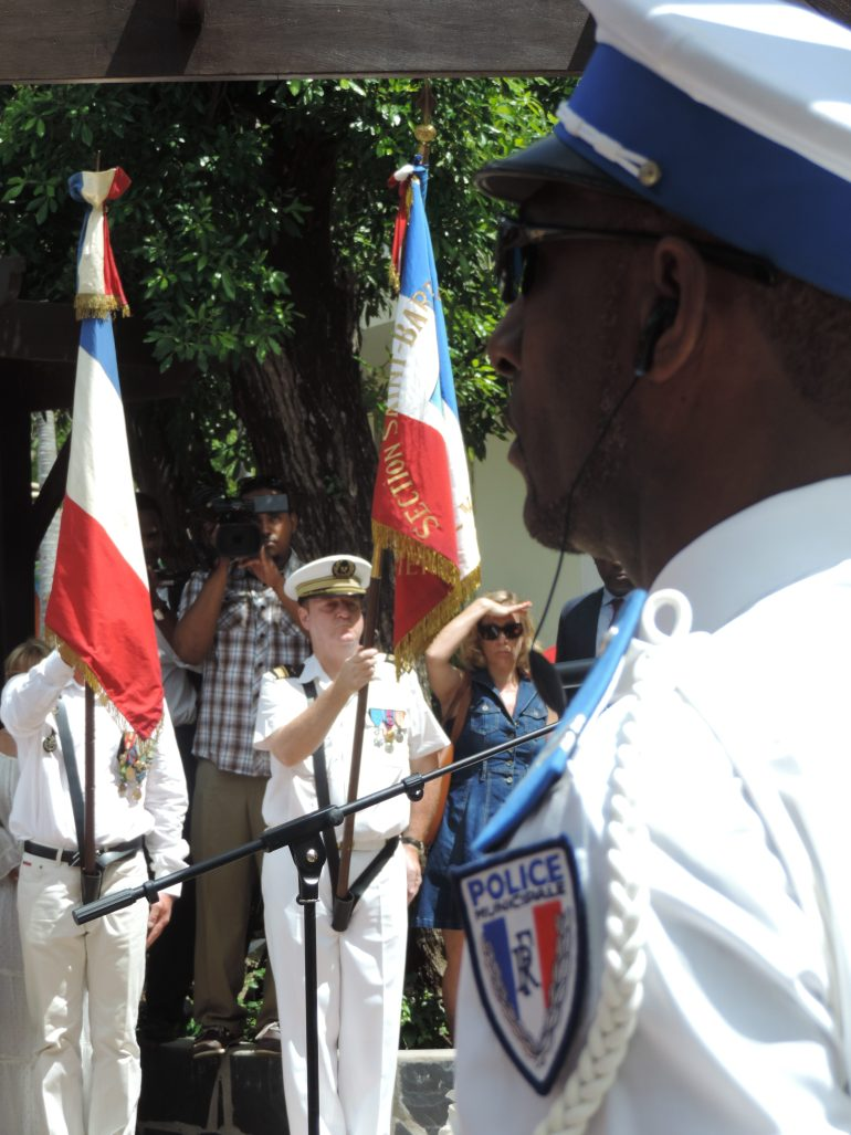 Bastille day celebration commences with a ceremony