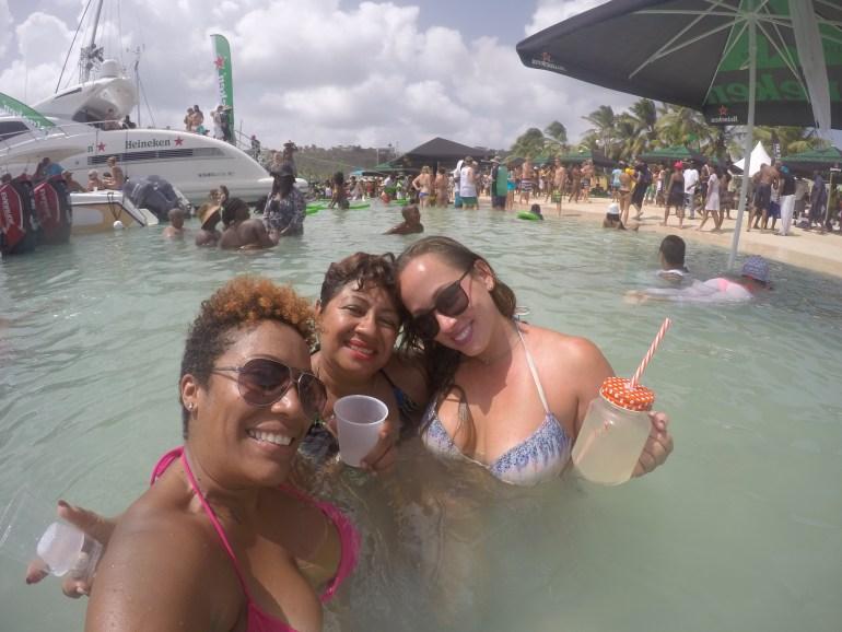 Sun, sand, sea and loads of booze