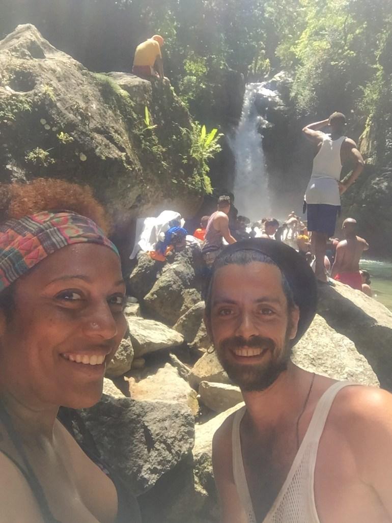 Jima Waterfall - I made it!