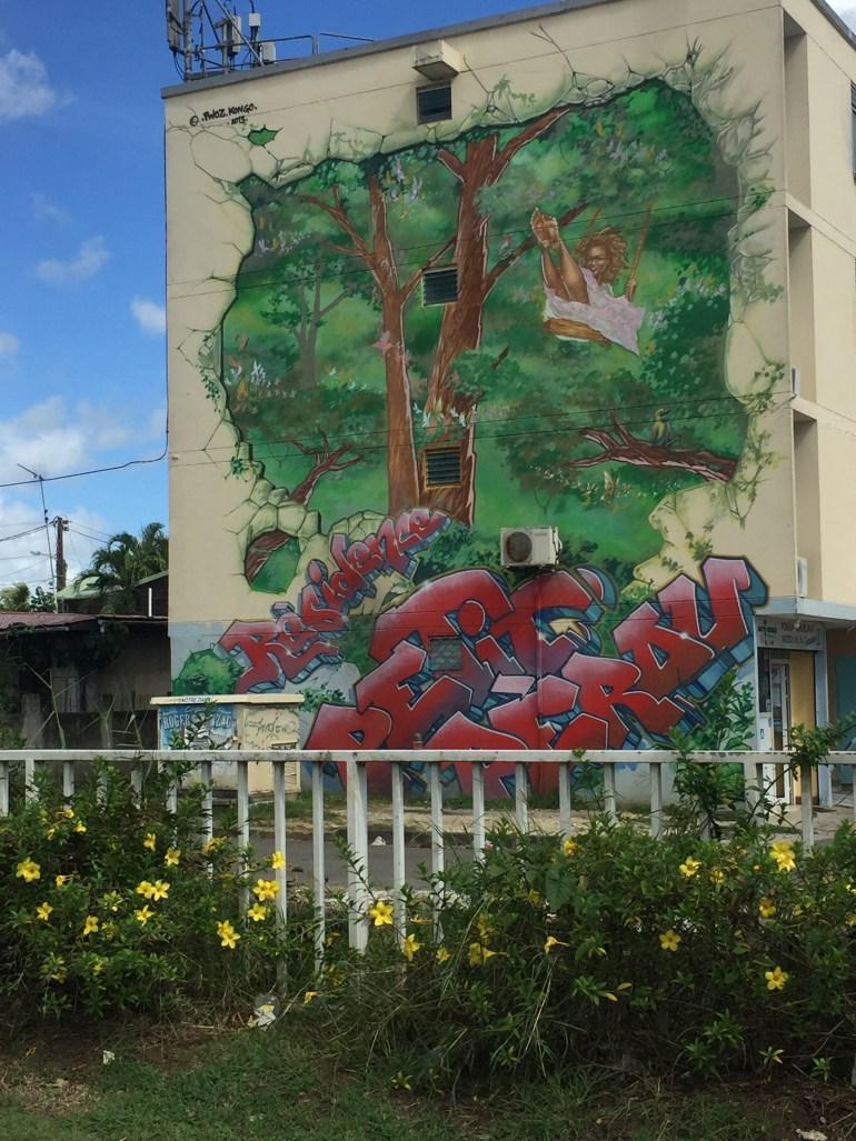 Street art in the Barrio