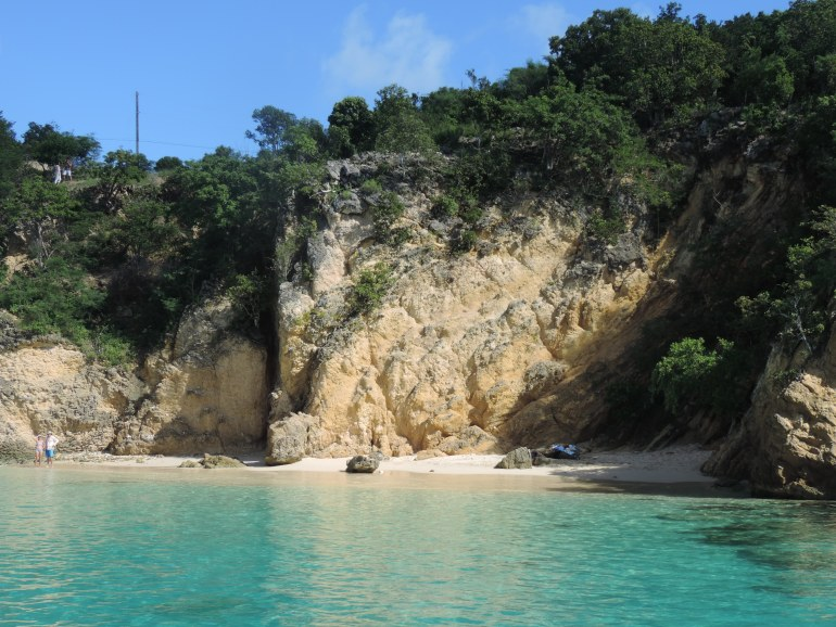 Beach Hopping trip to Anguilla with captain Pascal