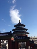The Temple of Heaven looking like it's about to explode!