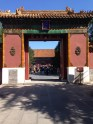 The entrance to the Buddhist Temple.