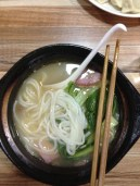 One of the many noodle dishes I've consumed in the last two weeks.