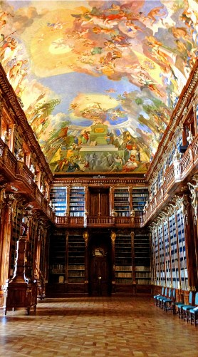 Library at the Strahov Monastery.