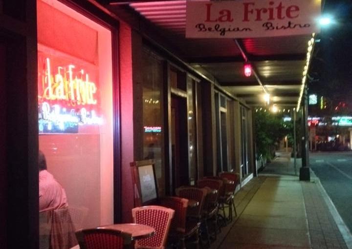 Belgian food at La Frite in San Antonio!