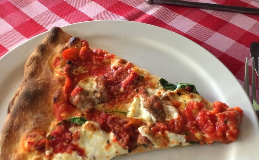 Lunch at Grimaldi's at the Shops at La Cantera…