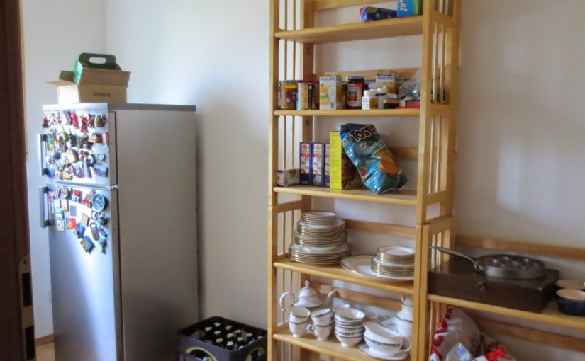 My kitchen annex…