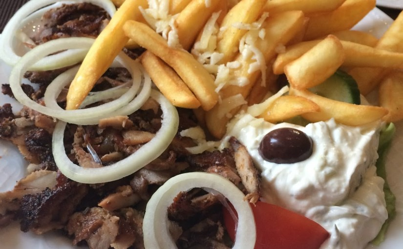 Gyros at Taverne bei Dimi and cross cultural education