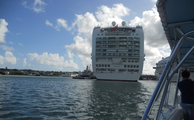 Big cruise ships vs. small ones…