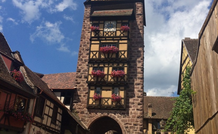 """A """"two dog night"""" in Riquewihr, France… part one"""