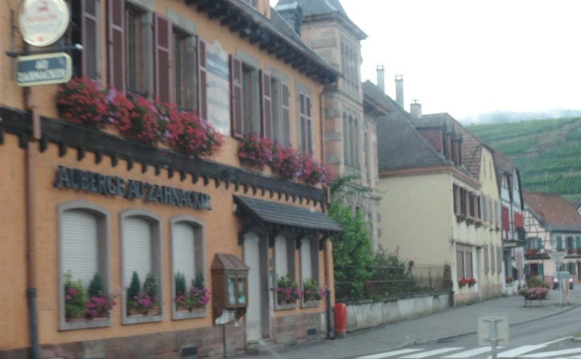 "A ""two dog night"" in Riquewihr, France… part three"