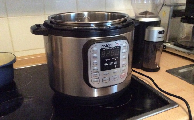 Making dog food with the Instant Pot…