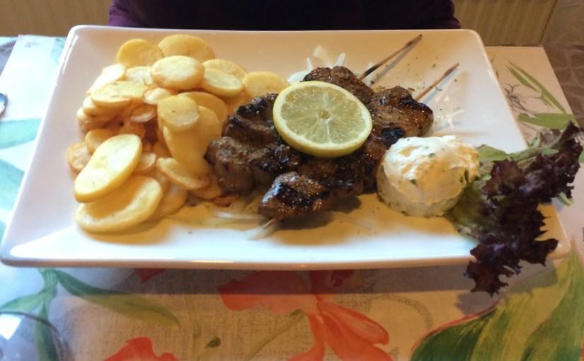 Dinner at Restaurant Bei Stefan in Jettingen…