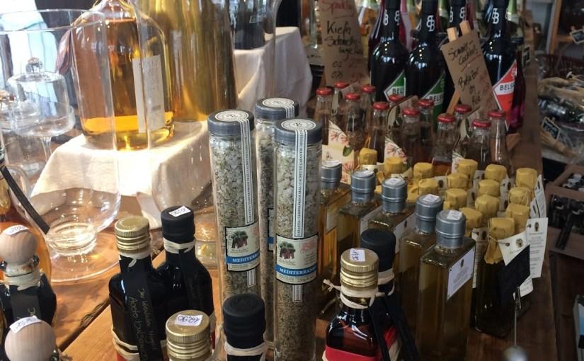 Der Weinladen and eating Greek in Jettingen