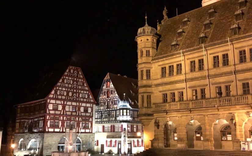 Rothenburg ob der Tauber: Part five– Sadistic punishments and one last dinner!