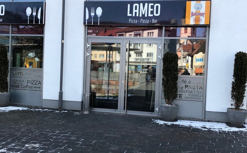 Lunch at La Meo in Nagold…