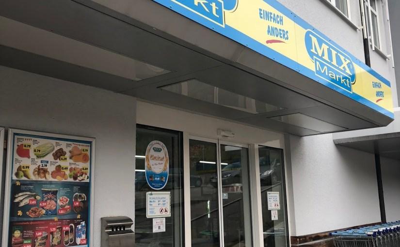 City Imbiss Döner Kebab and shopping at Nagold's Mix-Markt…