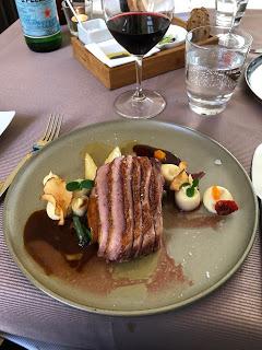Hammer schmeckt! Lunch at Villa im Tal!