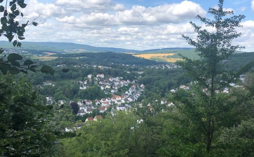 The prettiest view in Eppstein… Ristorante Kaisertempel