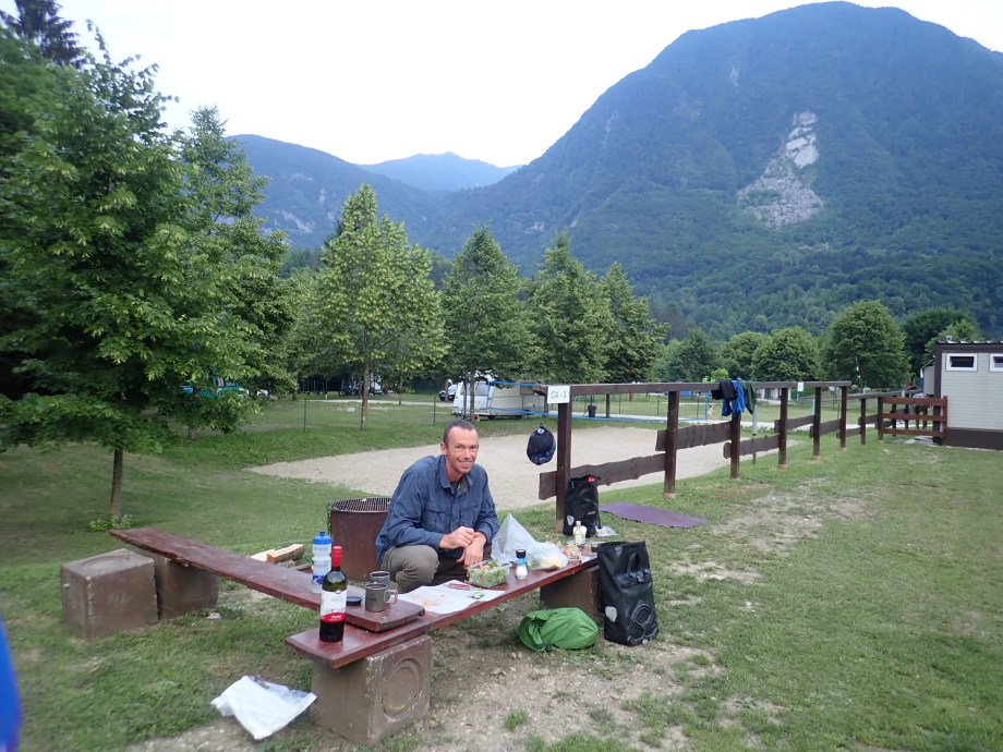 European camping hook up