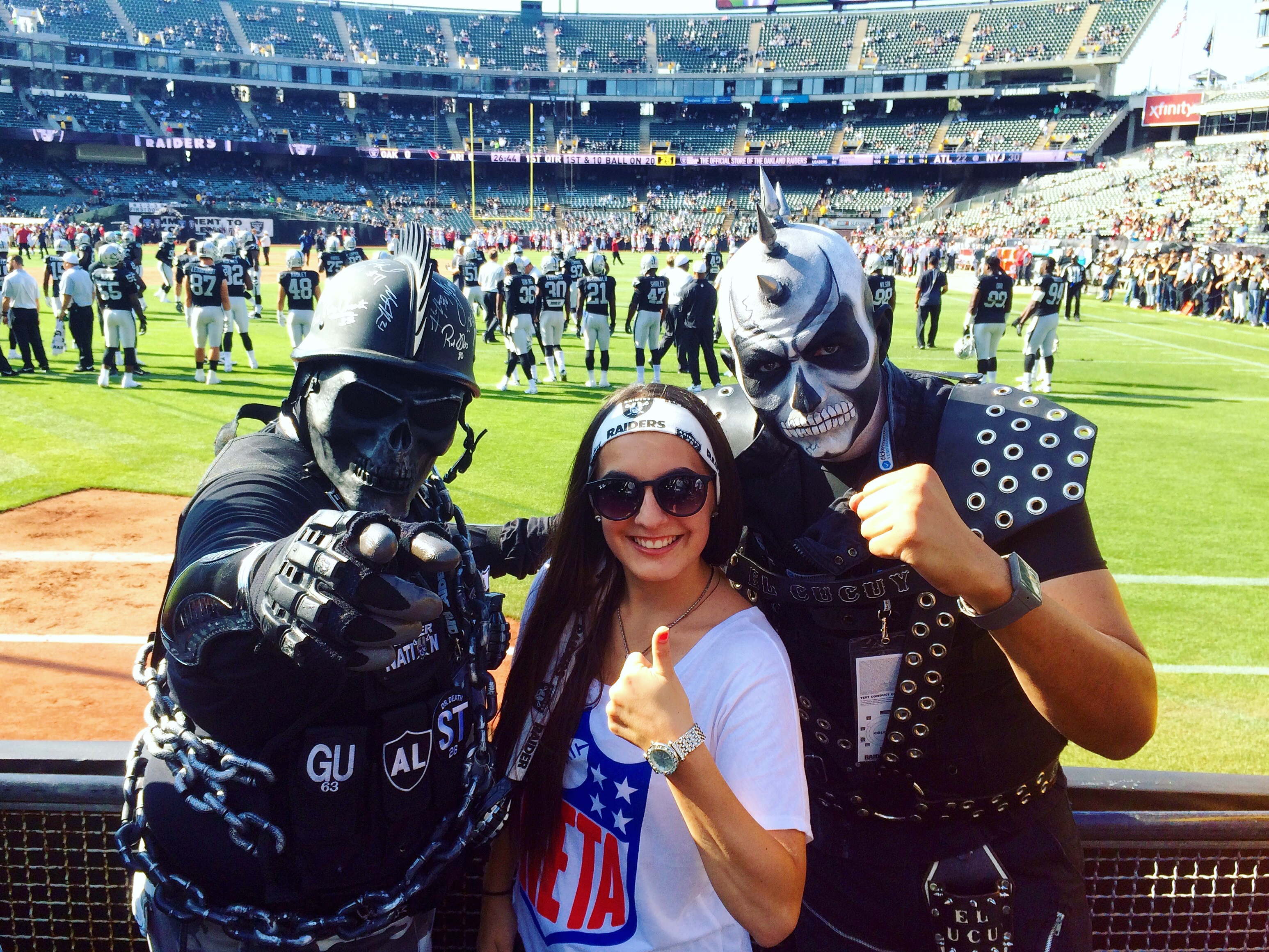 newest 509a0 953f0 How to Survive an Oakland Raiders Game -