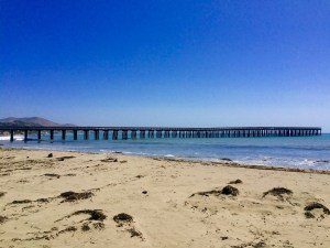 The inaccessible Cayucos Pier