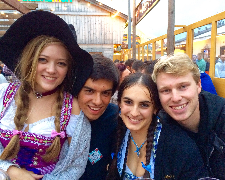 The OG Squad at Oktoberfest -