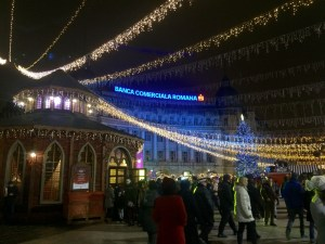 The Bucharest Christmas Market was stunningly beautiful - Bucharest, Romania