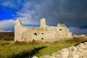 The old abandoned monastery - Ireland