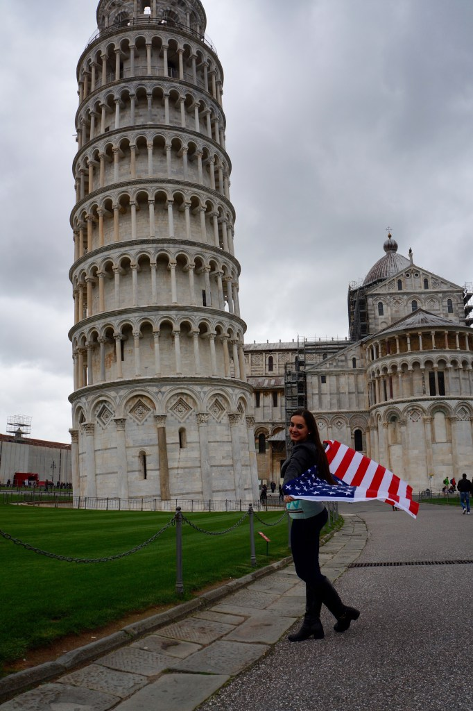 It's always important to remember where you come from - Pisa, Italy