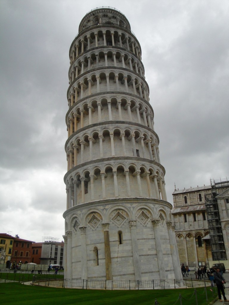 This is definitely the best side to take pictures of the tower from - Pisa, Italy