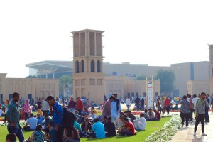 A large area where many Dubai residents gathered to relax in the afternoon - Dubai, UAE
