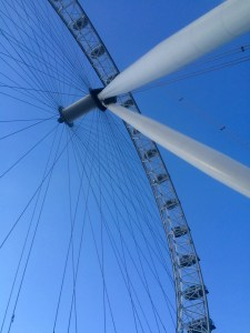 The London Eye is the largest wheel of its kind in the world - London, England
